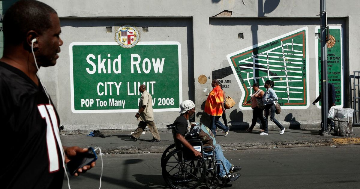 Black people make up 8% of L.A. population and 34% of its homeless. That's unacceptable